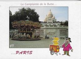 75 - PARIS - La Complainte De La Butte... ...PARIS - Cpm - Pas écrite - Dessin / E.CHAUNU - - Sacré Coeur