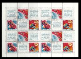 RUSSIA U.R.S.S. 1968 - Foglio ** Giornata Della Cosmonautica N. 3551 /53 - Serie Compl.  Cat. 16,00 € - Lotto 4261 - Blocchi & Fogli