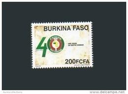 BURKINA FASO BURKINAFASO 40 ANS DE LA CEDEAO 40 TH ECOWAS ANNIVERSARY YEARS 2015 MNH ** RARE - Burkina Faso (1984-...)