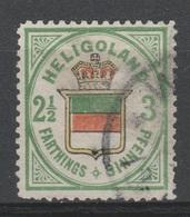 Allemagne - Heligoland - 1876 - Obl. - Michel 17  - Réimpression . - Héligoland