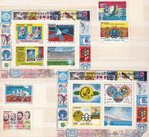 Uruguay 1976: Nobel & Viking & Olympia & Fussball-WM - Michel 1432-1435 + Block 31-32 ** MNH - 1978 – Argentine
