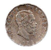 5 LIRE VICTOR EMMANUEL II.1872 M.-----------TB - 1861-1878 : Vittoro Emanuele II