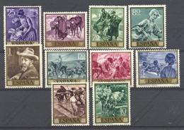 Espagne, Yvert 1218/1227, Scott 1215/1224, MNH - 1961-70 Ongebruikt