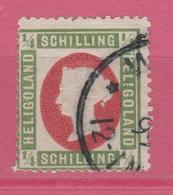Allemagne - Heligoland - 1873 - Obl. - Michel 8 Type III -  ¼ S - Réimpression - Heligoland