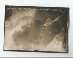 LIOUVILLE (MEUSE)PHOTO DE RECONNAISSANCE AERIENNE MILITAIRE PENDANT LA GUERRE EN 1918 - Places