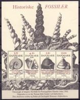 DENEMARKEN 1998 Blok Fossielen GB-USED - Gebraucht