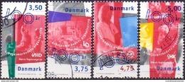 DENEMARKEN 1998 100 Jaar Arbeidsmark  GB-USED - Gebraucht