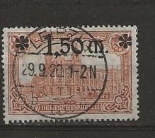 Timbres 1920 Surchargés. - Allemagne