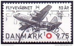 DENEMARKEN 2000 50 Jaar Luchtmacht GB-USED - Gebraucht
