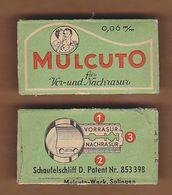 AC - MULCUTO SHAVING RAZOR BLADE IN WRAPPER MADE IN GERMANY - Razor Blades