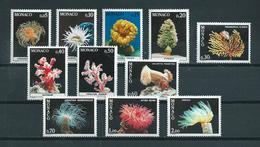 1980 Monaco Complete Set Sealife MNH/Postfris/Neuf Sans Charniere - Maritiem Leven