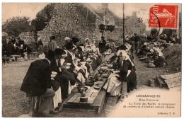 CPA 56 - LOCMARIAQUER (Morbihan) - Noce Bretonne. La Table Des Mariés. Coll. T.H - Locmariaquer