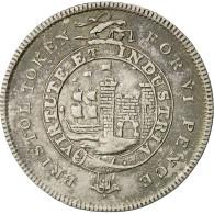 Monnaie, Grande-Bretagne, Silver Token Bristol, 6 Pence, 1811, TTB, Argent - 1662-1816 : Anciennes Frappes Fin XVII° - Début XIX° S.