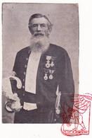 DP Foto - Burgemeester Kamerlid Stichter Wezenhuis - Jan Boone ° Tielt 1846 † 1909 X Pelagie Ketele - Devotieprenten