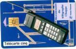 TELECARTE: 5 Unités. Bicentenaire Du Télégraphe Chappe (oct 1993, Emis A 35 000 Exemplaires) - 1992