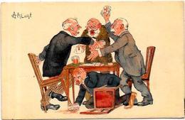 CPA Jeu De Cartes Carte à Jouer Playing Cards LUYT Non Circulé - Carte Da Gioco