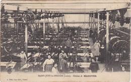 SAINT-JUST-la-PENDUE - Usine J. MAZOYER - Ouvriers Et Ouvrières - Francia