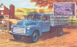 USA  Los Angeles Anniversary Of The Trucking Industry  1953   MAXIMUM    (MAGG180013) - Cartoline Maximum