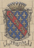Histoire - Emblême Blason Armes -  Région Creuse Marche - Barré Dayez - Histoire