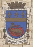 Histoire - Emblême Blason Armes - Ville De Vitry Le François - Barré Dayez - Histoire