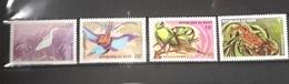 NIGER 1996 YT 921 921A/D BIRDS OISEAUX FULL SET  MNH RARE - Niger (1960-...)