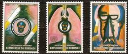 Burundi 1990 OCBn° 963-965 *** MNH Cote 40 Euro Anti Tabak Lutte Contre Le Tabagisme - Burundi