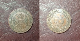 AFRIQUE DE L'EST ALLEMANDE - Guillaume II 1888/1918 - PESA - 1890 - Afrique De L'Allemagne De L'Est