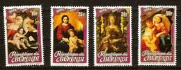 Burundi 1983 OCBn° 910-913  *** MNH Cote 50 Euro Noël Christmas Kerstmis - 1980-89: Neufs