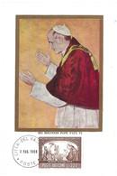 His Holiness Pope PAUL VI, 3.3. 1966 (2scans) - Cartes-Maximum (CM)