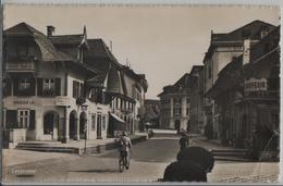Langenthal - Stadtpartie, Coiffeeur, Soldat, Häusler & Co. - Photo: Globetrotter - BE Berne