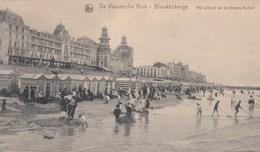 BLANKENBERGE / HET STRAND EN DE GROTE HOTELS - Blankenberge