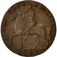Monnaie, Grande-Bretagne, Coventry, Halfpenny Token, 1792, TTB, Cuivre - 1662-1816 : Anciennes Frappes Fin XVII° - Début XIX° S.