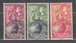 ESPAÑA 1964 - DIA MUNDIAL DEL SELLO - EDIFIL Nº 1595-1597** - 1931-Aujourd'hui: II. République - ....Juan Carlos I