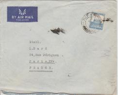 Palestine Lettre De 1938 Par Avion Pour La France - Palästina