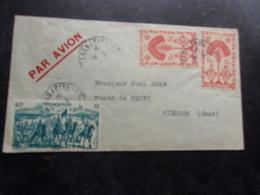 MADAGASCAR (19??) Lettre  TANANARIVE A VIERZON - Madagascar (1889-1960)