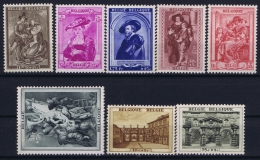 Belgium: OBP 504 - 511  Postfrisch/neuf Sans Charniere /MNH/** 1939 - Belgique