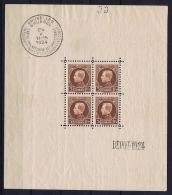 Belgium: OBP  Block 1 MH/* Flz/ Charniere 1924 - Blocchi 1924 – 1960