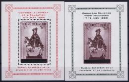 Belgium: OBP  Block  PR1213 + 124 Postfrisch/neuf Sans Charniere /MNH/** - Privées & Locales