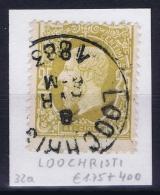 Belgium: OBP 32 Cancel Loochchristi - 1869-1883 Léopold II