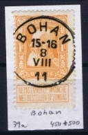 Belgium: OBP 79 Cancel Bohan - 1905 Thick Beard