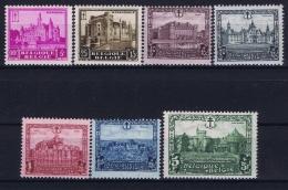 Belgium: OBP  308 - 314 Postfrisch/neuf Sans Charniere /MNH/** 1930 - Belgique