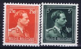 Belgium: OBP  1006 - 1007 Postfrisch/neuf Sans Charniere /MNH/**  Perfo 11.50  1956 - Ungebraucht