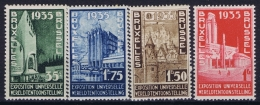 Belgium: OBP 386 - 389 MNH/**/postfrisch/neuf 1935 - Belgique