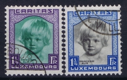 Luxembourg  Mi Nr 243 - 244 Obl./Gestempelt/used  1931 - Luxembourg
