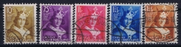 Luxembourg  Mi Nr 252 - 256 Obl./Gestempelt/used  1933 - Luxembourg