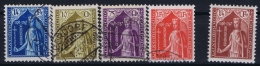 Luxembourg  Mi Nr 245 - 249 Obl./Gestempelt/used  1932   248 = MH/* - Luxembourg