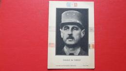 Général De GAULLE - Imprimé Sous L'occupation Allemande Paris 1944 - Histoire