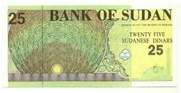 Sudan - 25 Dinars 1992, - Sudan