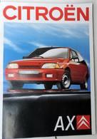 Brochure Citroen AX - Publicidad