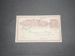 URUGUAY - Entier Postal De Montevideo Pour Paris En 1904 - L 16315 - Uruguay